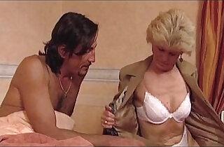 Granny Effie loves hard anal fucking