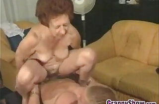 Horny Grandma And A Stud Having Sex in top studs videos