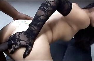 Petite Asian Pornstar Evelyn Lin Worships Big Black huge Cock