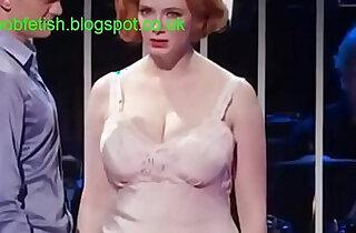 Christina hendricks boob highlights slo mo