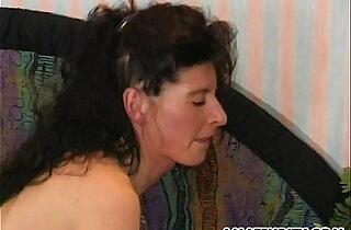 Amateur asian Milf gets anal sex action with facial cumshot