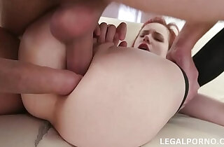 Petite nympho Kira Roller takes cock Balls with Swallows!