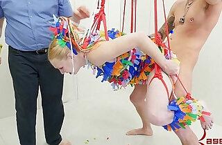 Anal pinata girl brutal punishment