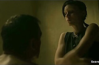 Rooney Mara in The Girl toying pussy with the Dragon Tattoo 2012