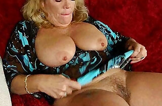 Office granny in pantyhose gives her old pussy a treat in top officeporn videos