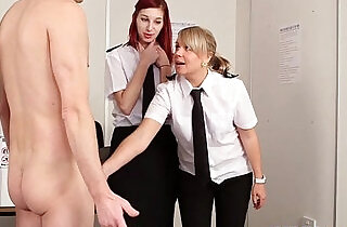 Agent Mishka Devling giving rough hj