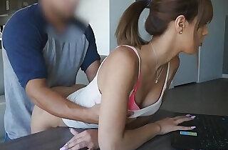 Horny hottie babe Demi Lopez getting hard