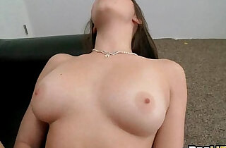New amateur hottie Pocahontas Jones does her first porno.
