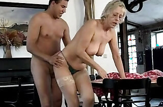 German mature sluts the old cleaning team