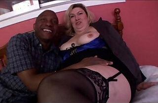 Big tit blonde mature milf banging in Amateur Video