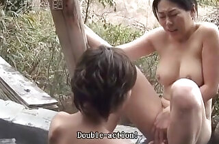 Rin Myus Lesbian Threesome Uncensored JAV
