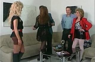 Rough threesome scene full