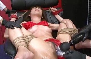 Japanese Bondage Sex Extreme BDSM Punishment of Asari Pt.