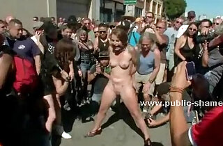 Group of sluts undressed in public sex in top public place videos
