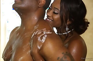 Hot nuru massage with a booty ebony Skyler Nicole, Tyler Knight